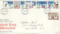 1973-11-28 Christmas Stamps London FDI (53602)