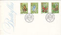 1981-05-13 Butterflies Stamps Woodwalton FDC (53678)