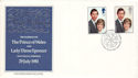 1981-07-22 Royal Wedding Cameo London WC2 FDC (53688)