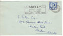 1966-02-07 Wales Definitive Llanelly Slogan not FDC (53709)