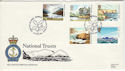 1981-06-24 National Trust Stamps RNLI FDC (53810)