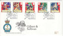 1992-07-21 Gilbert and Sullivan Stamps RNLI FDC (53816)