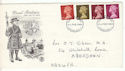 1968-02-05 Definitive Stamps Edinburgh 1 FDI (53874)