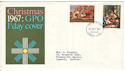 1967-11-27 Christmas Stamps Bethlehem FDC (53931)