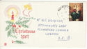 1967-10-18 Christmas Stamp Woolwich cds FDC (53939)