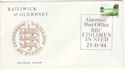 1984-11-23 Guernsey Children in Need Pmk Souv (53967)