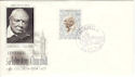 1974-05-08 Monaco Churchill Stamp FDC (54136)