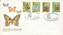 1981-05-13 Butterflies Stamps Bramber FDC (54184)