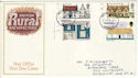 1970-02-11 Rural Architecture Cylinder Margin FDC (54277)