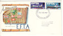 1967-02-20 EFTA Phos Stamps Kingston FDI (54287)