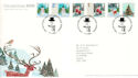 2006-11-07 Christmas Stamps T/House FDC (54362)