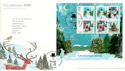 2006-11-07 Christmas Stamps M/S T/House FDC (54363)