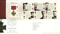 2006-09-21 Victoria Cross M/S T/House FDC (54370)
