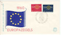 1960 Netherlands Europa FDC (54469)