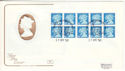 1990-04-17 Booklet JC2 Pane Windsor FDC (54555)