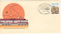 1980-10-09 Tarcoola Alice Springs Railway FDC (54571)