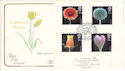 1987-01-20 Flowers Stamps Kew FDC (54606)