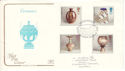 1987-10-13 Studio Pottery Stamps Ashford FDC (54612)