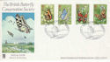 1981-05-13 Butterflies Wildfowl Trust Slimbridge FDC (54643)