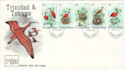 1980-05-06 Tinidad & Tobago Bird Stamps FDC (54688)