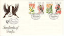 1981-02-16 Venda Sunbirds Stamps FDC (54709)