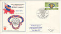 1971-06-15 British Legion 50th Anniv Jersey FDC (54713)