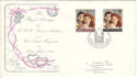 1986-07-22 Royal Wedding Westminster Abbey FDC (54741)