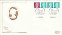 1984-08-14 Definitive Coil Stamps Windsor FDC (54757)