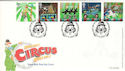 2002-04-09 Circus Stamps Clowne FDC (54784)