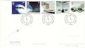 2002-05-02 Airliners Stamps Heathrow Airport FDC (54786)