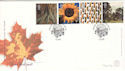 2000-08-01 Tree and Leaf Stamps St Austell FDC (54814)