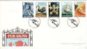 2003-08-12 Pub Signs Cross Keys Hereford FDC (54855)