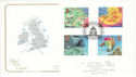 2001-03-13 Weather Stamps Windygates Fife FDC (54886)