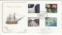 2000-03-07 Water and Coast Stamps Liverpool FDC (54908)