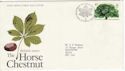 1974-02-27 British Trees Stamp Bureau FDC (55025)