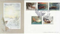 1992-01-14 Wintertime Owlsmoor Official FDC (55037)
