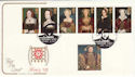1997-01-21 Henry VIII / 6 Wives Hampton Court FDC (55067)