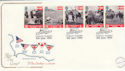 1994-06-06 D-Day Stamps Southwick FDC (55077)