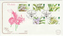 1993-03-16 Orchids Stamps Glasgow FDC (55097)