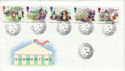 1994-08-02 Summertime Stamps Summerhouse cds FDC (55099)