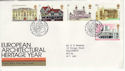 1975-04-23 Architectural Heritage Stamps Bureau FDC (55113)