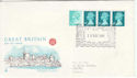 1981-12-30 Coil Stamps Windsor FDC (55137)