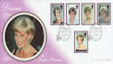 1998-02-03 Princess Diana Althorp Silk FDC (55144)
