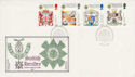 1987-07-21 Scottish Heraldry Stamps Rothesay FDC (55166)