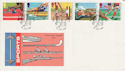 1986-07-15 Sports Stamps Edinburgh FDC (55176)