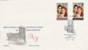 1986-07-22 Royal Wedding Stamps Westminster SW1 FDC (55179)