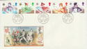 1985-11-19 Christmas Stamps Bethlehem FDC (55200)