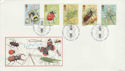 1985-03-12 Insects Stamps London SW FDC (55201)