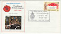 1981-09-29 British Legion 60th Anniv Douglas FDC (55225)