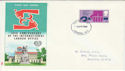 1969-04-02 Labour Organisation 50th London WC FDC (55233)